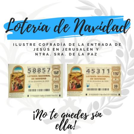 Cofradía Borriquilla Granada: LOTERÍA DE NAVIDAD