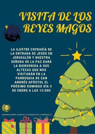 Cofradía Borriquilla Granada: VISITA DE LOS REYES MAGOS 2020