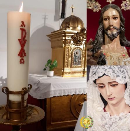 Cofradía Borriquilla Granada: ¡ALELUYA, CRISTO HA RESUCITADO! ¡FELIZ PASCUA DE RESURRECCIÓN!
