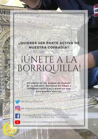 Cofradía Borriquilla Granada: ¡PARTICIPA ACTIVAMENTE EN TU COFRADÍA!