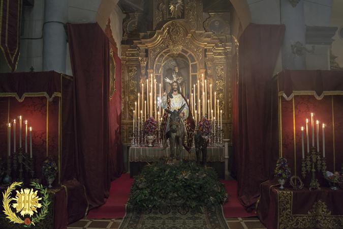 Cofradía Borriquilla Granada: CRISTO REY DEL UNIVERSO. AÑO 2016