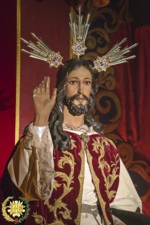 Cofradía Borriquilla Granada: CRISTO REY DEL UNIVERSO. AÑO 2015