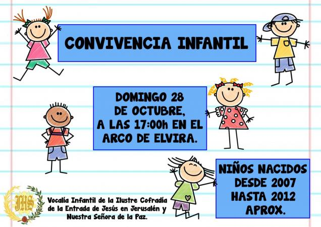 Cofradía Borriquilla Granada: CONVIVENCIA INFANTIL