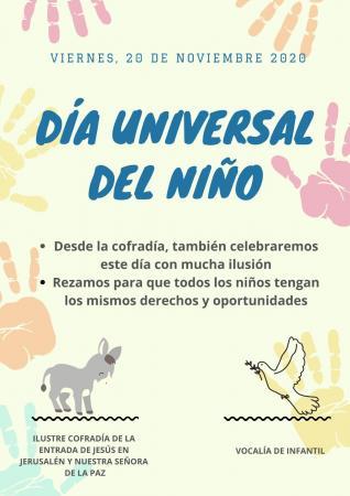 Cofradía Borriquilla Granada: DIA UNIVERSAL DEL NIÑ@