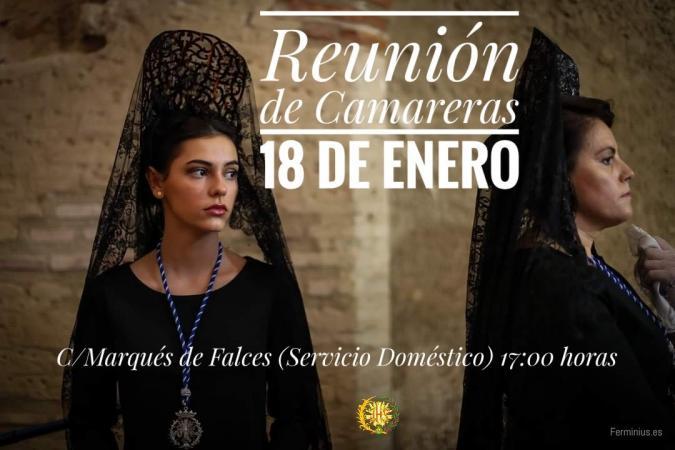 Cofradía Borriquilla Granada: REUNIÓN DE CAMARERAS 18 DE ENERO 2020