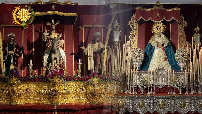 Cofradía Borriquilla Granada: ¡FELIZ PASCUA DE RESURRECCIÓN!