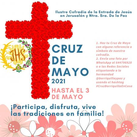 Cofradía Borriquilla Granada: CRUZ DE MAYO DEL 2021