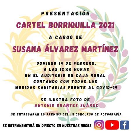 """Cofradía Borriquilla Granada: EL DOMINGO 14 DE FEBRERO SE PRESENTA EL CARTEL DE """"LA BORRIQUILLA 2021"""""""