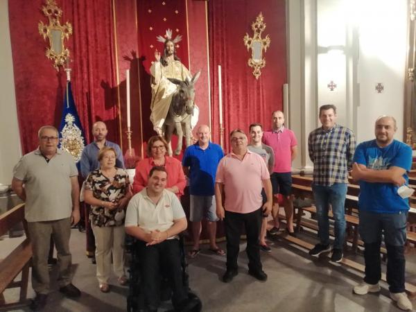 Cofradía Borriquilla Granada: 75 ANIVERSARIO DE LA COFRADÍA: COMISIÓN DE TRABAJO