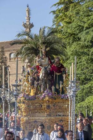 Cofradía Borriquilla Granada: SALIDA EXTRAORDINARIA DE JESÚS DE LA ENTRADA EN JERUSALÉN