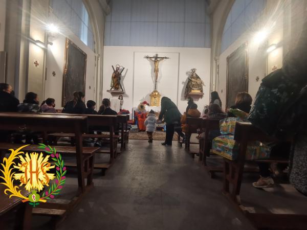 Cofradía Borriquilla Granada: VISITA DEL REY GASPAR 2021