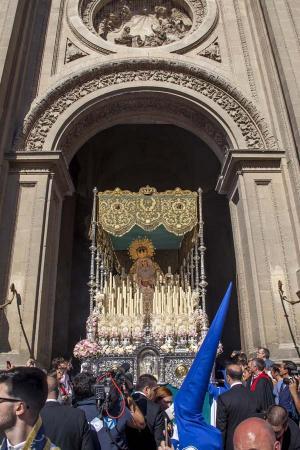 Cofradía Borriquilla Granada: ESTACIÓN DE PENITENCIA DOMINGO DE RAMOS 2017