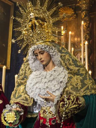 Cofradía Borriquilla Granada: FESTIVIDAD LITÚRGICA DE NUESTRA SEÑORA DE LA PAZ. AÑO 2017