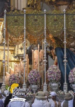 Cofradía Borriquilla Granada: PROGRAMA DE HORARIOS E ITINERARIOS / REVISTA DE PALMAS Y OLIVOS