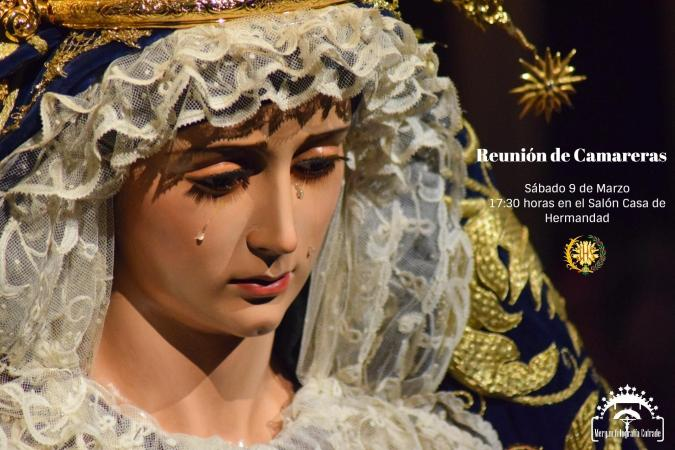 Cofradía Borriquilla Granada: REUNIÓN DE CAMARERAS, MARZO 2019
