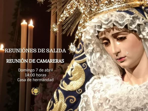 Cofradía Borriquilla Granada: REUNIONES PREPARATORIAS PARA LA PRÓXIMA SALIDA PROCESIONAL