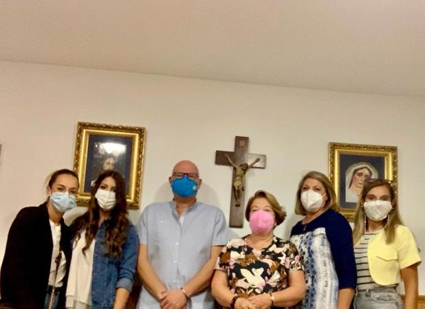 Cofradía Borriquilla Granada: LAS CAMARERAS SE PONEN EN CAMINO ESTE CURSO COFRADE