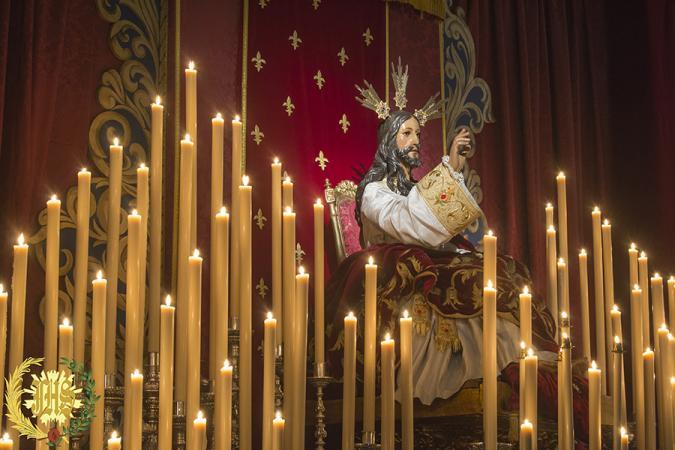 Cofradía Borriquilla Granada: TRIDUO EXTRAORDINARIO CRISTO REY DEL UNIVERSO. AÑO 2017