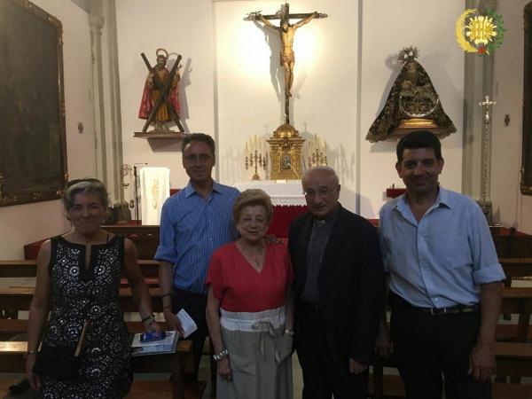 """Cofradía Borriquilla Granada: VISITA A IGLESIA PARROQUIAL DE SAN ANDRÉS APÓSTOL Y VISITA GUIADA DE ASOCIACIÓN """"CONOCE GRANADA PASEANDO"""""""