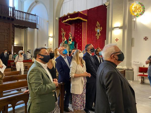 Cofradía Borriquilla Granada: LA JUNTA DE ANDALUCÍA VISITA LA IGLESIA DE SAN ANDRÉS APÓSTOL